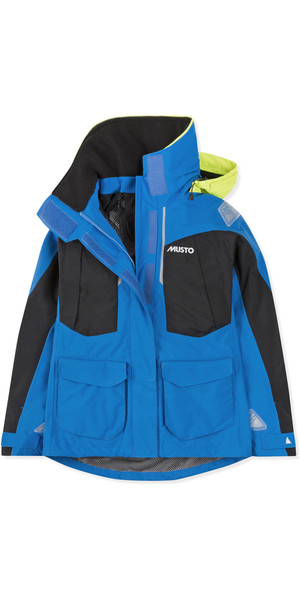 2019 Musto Dame BR2 Offshore Jacket Brilliant Blue SWJK014