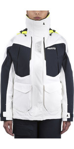 2020 Musto Womens BR2 Offshore Jacket White / True Navy SWJK014