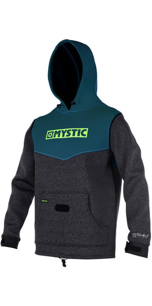 2018 Mystic Voltage Sweat Neopren-Hoodie AQUAMARIN 170090