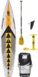 "Naish Sup Air Nisco One 12'6 ""inc. Pagaie, Sacoche, Pompe Et Laisse"