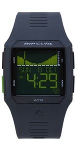 2019 Rip Curl Rifles Tide Surf Watch in Black / Green A1119