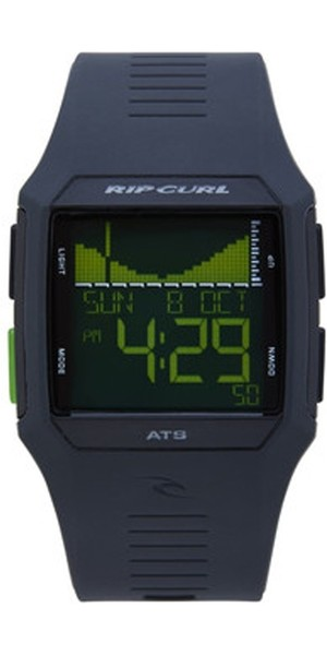 2019 Rip Curl Rifles Tide Surf Watch en noir / vert A1119