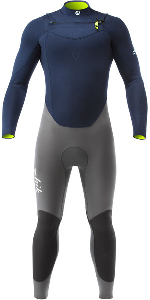 2019 Zhik Superwarm V 3,5 mm GBS Brust Zip Neoprenanzug NAVY STM1120