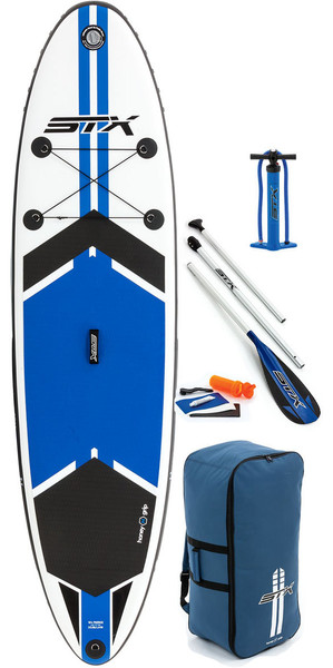 "2018 STX 10'6 ""x 32"" Freeride gonfiabile Stand Up Paddle Board, Paddle, pompa e borsa 70610"