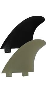 Eurofins E5 FCS Kompatibel Surfboard Fin EUR-E (sæt af 3)