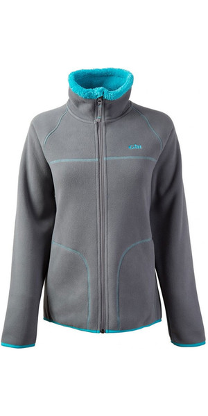 2018 Gill Damen Polar Fleece Jacke in Aqua 1702