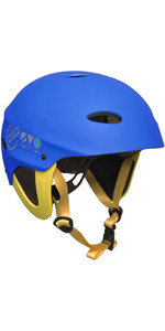 2021 Gul Evo Watersports Helmet BLUE / FLURO YELLOW AC0104-B3