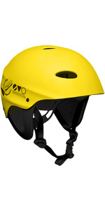 2020 Gul Evo Watersports Casco Amarillo Ac0104-b3