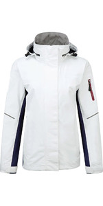 Henri Lloyd Womens Sail 2.0 Inshore Coastal Jacket Optical White YO200021
