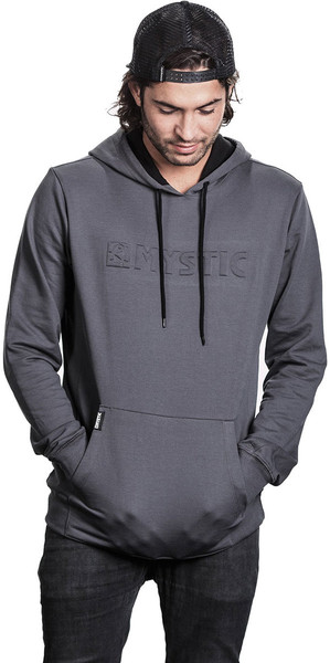 2018 Sweat à capuche Mystic Carving Rock Gris 180005