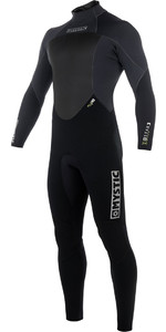 2019 Mystic Star 4/3 mm GBS back Zip Wetsuit - Zwart 180019