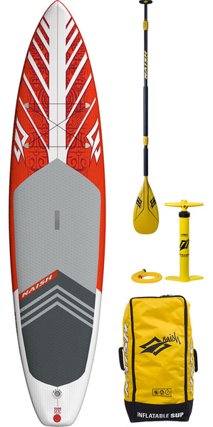 2018 Naish Glide LT 12'0 Touring Gonflable Stand Up Paddle Board Inc Pagaie, Sac et Pompe 51685070