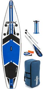 "2018 STX 11'6 x 32 ""Tour Edição Windurf Inflável Stand Up Paddle Board, Paddle, saco, Bomba & Leash Azul 70631"
