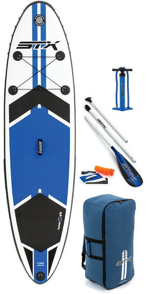 "2018 STX 9'8 ""x 30"" Freeride aufblasbares Stand Up Paddle Board, Paddel, Bag, Pump & Leash 70600"