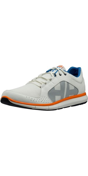 2019 Helly Hansen Ahiga V3 Hydropower Shoe Off White / Racer Blue 11215