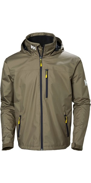2019 Helly Hansen Crew Hooded Jacket Fallen Rock 33875