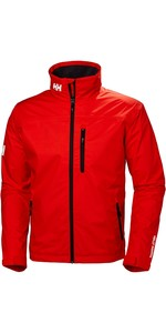 2019 Helly Hansen Crew Jacket Cherry Tomat 30263