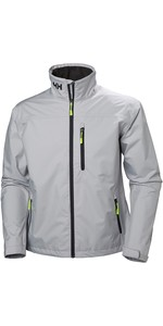 2019 Helly Hansen Crew Jacket Gray Fog 30263