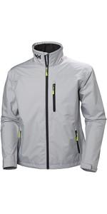 2019 Helly Hansen Crew Jacket Grey Helly Hansen 30263