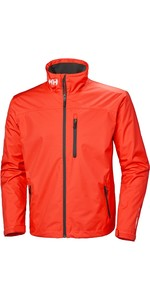 2019 Helly Hansen Mens Crew Midlayer Giacca Cherry Tomato 30253
