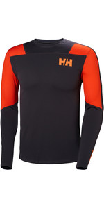 2019 Helly Hansen Hh Lifa Active Light Ls Baselayer Ebenholz 49331