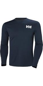 2019 Helly Hansen Hh Lifa Active Lumière Ls Baselayer Navy 49331