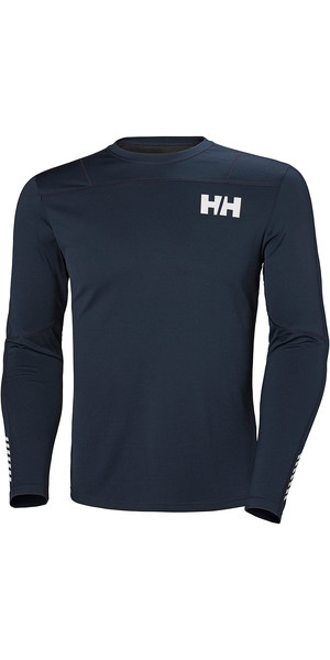 2019 Helly Hansen HH Lifa Active Leicht LS Baselayer Navy 49331