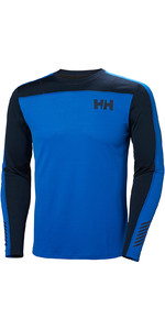 2019 Helly Hansen Hh Lifa Active Lumière Ls Baselayer Olympian Blue 49331