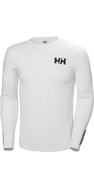 2019 Helly Hansen HH Lifa Aktiv Light LS Baselayer White 49331