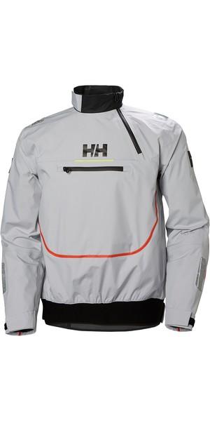 2019 Helly Hansen Blusa de Folha HP Topo Nevoeiro Cinza 33877