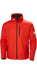 2019 Helly Hansen Hooded Crew Mid Layer Jacket Cherry Tomat 33874