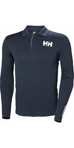 2019 Helly Hansen Lifa Aktiv Light LS Polo Navy 49332
