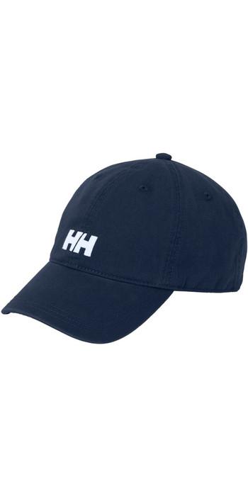 2021 Helly Hansen Logo Cap Navy / Navy Logo 38791