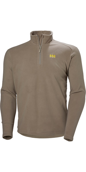2019 Helly Hansen Herren Daybreaker 1/2 Zip Fleece Fallen Rock 50844