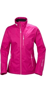 2019 Helly Hansen Chaqueta De Crew Para Mujer Dragon Fruit 30297