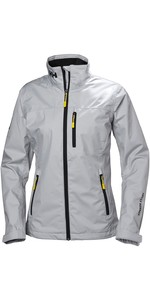 2020 Helly Hansen Womens Crew Jacket Grey Fog 30297