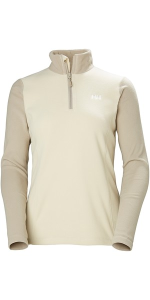 2019 Helly Hansen Womens Daybreaker 1/2 Zip Fleece Castle Wall 50845