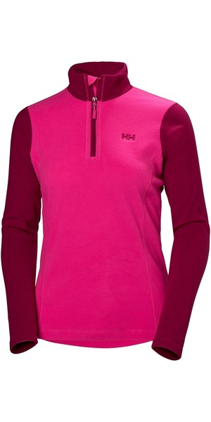 2019 Helly Hansen Damen Daybreaker 1/2 Zip Fleece Drachenfrucht 50845