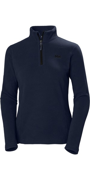 2019 Helly Hansen Damen Daybreaker 1/2 Zip Fleece Graphitblau 50845