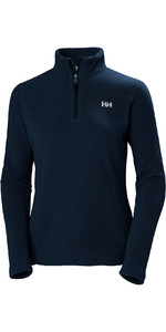 2019 Helly Hansen Daybreaker 1/2 Zip Donna Navy 50845