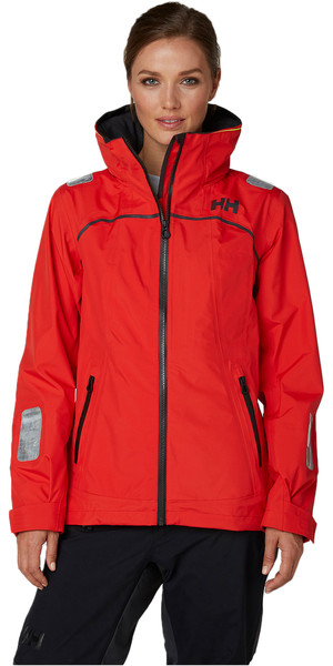 2019 Helly Hansen Womens HP Foil Jacket Alert Red 33887
