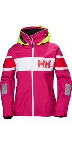 2019 Chaqueta Con Bandera De Salt Helly Hansen Mujer Dragon Fruit 33923