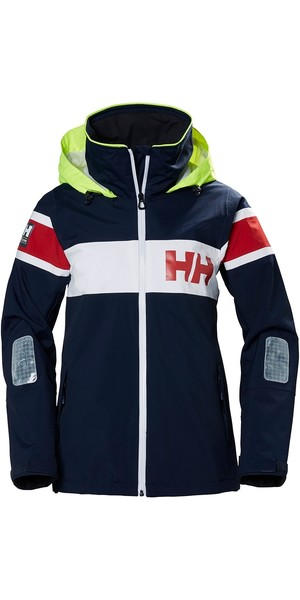 2019 Helly Hansen Womens Salt Flag Jacket Navy 33923