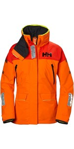 2019 Helly Hansen Womens Skagen Offshore Jacket Blaze Orange 33920