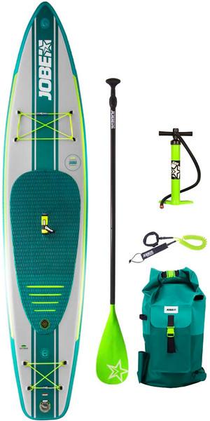 "2019 Jobe Duna opblaasbaar stand-up paddleboard 11'6 x 31 ""INC paddle, rugzak, pomp en leiband"