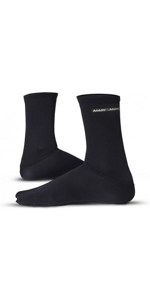 2019 Magic Marine 1mm Metalite Neoprene Socks Black 066596