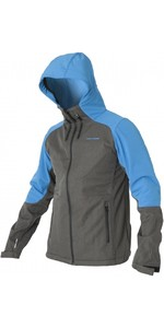 2019 Magic Marine Mens Radar Soft Shell Jacket Grey / Blue 160000