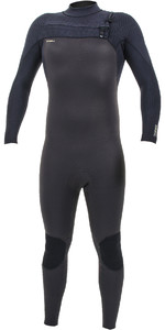 2019 O'Neill Mens HyperFreak+ 4/3mm Chest Zip Wetsuit Raven / Black 5344