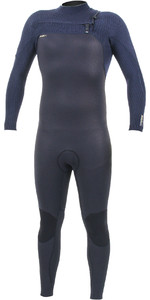2019 O'Nill Heren Hyperfreak + 5/4mm Wetsuit Met Chest Zip Zwart / Abyss 5345