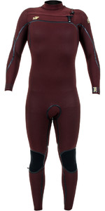 2019 O'Nill Psycho One 4/3mm Wetsuit Met Chest Zip Weduwe 4967